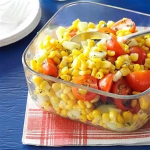 Cherry Tomato Corn Salad Recipe