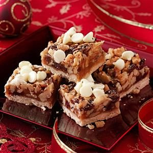 Cherry Walnut Squares Recipe