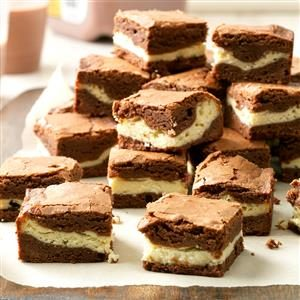 Chewy Cream Cheese Brownies Recipe