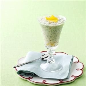 Chia Orange Yogurt Recipe