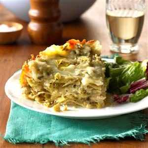 Chicken & Artichoke Lasagna Recipe