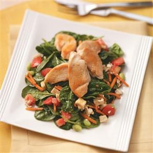 Chicken & Pita Salad Recipe