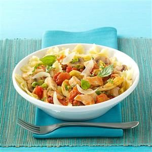 Chicken and Artichoke Pasta Recipe
