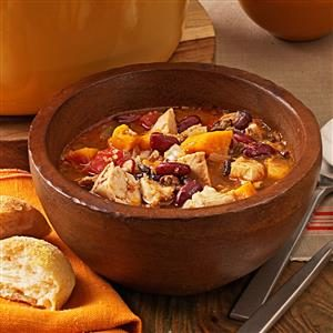 Chicken and Sweet Potato Chili Recipe