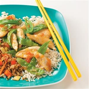 Chicken Apricot Stir-Fry Recipe