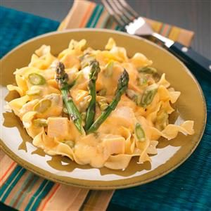 Chicken Asparagus Stroganoff Recipe
