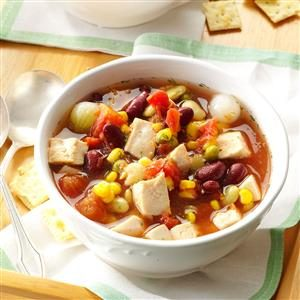 Chicken Bean Soup