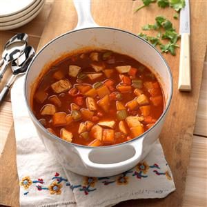 Chicken Butternut Chili