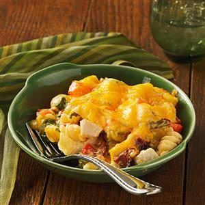 Chicken Club Casseroles