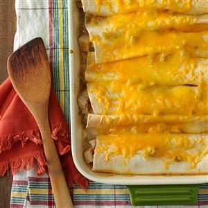 Chicken Enchiladas for Four Recipe