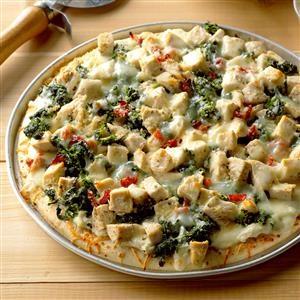 Chicken Florentine Pizza Recipe