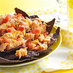 Chicken Nachos for One Recipe