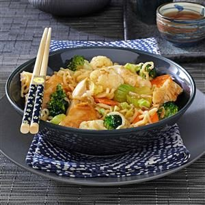 Chicken Noodle Stir-Fry Recipe