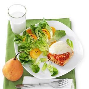 Chicken Parmesan Patty Melts Recipe