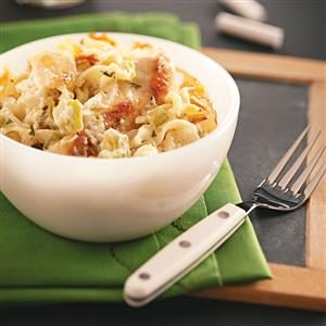 Chicken Pasta Casserole Recipe