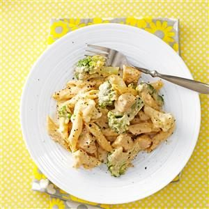 Chicken Penne Alfredo Recipe