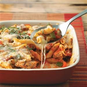 Chicken Penne Casserole Recipe
