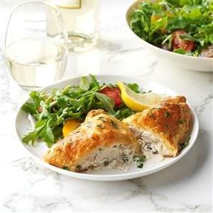 Chicken Piccata Pockets Recipe