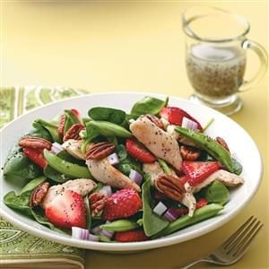 Chicken Poppy Seed Salad Recipe