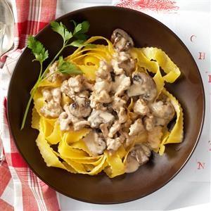 Chicken Portobello Stroganoff Recipe