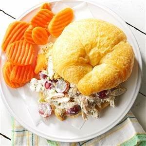 Chicken Salad Croissant Sandwiches Recipe