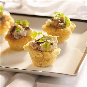 Chicken Salad in Baskets Recipe