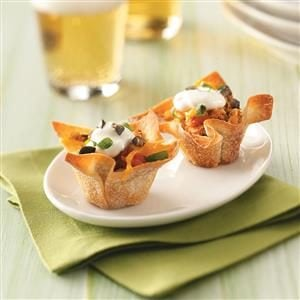 Watch Us Make: Chicken Taco Cups