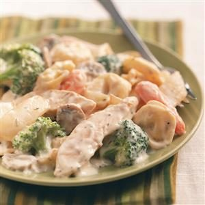 Chicken Tortellini Alfredo Recipe
