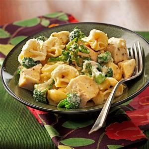 Chicken Tortellini in Cream Sauce Recipe