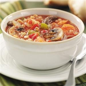Chicken Veggie Soup Recipe