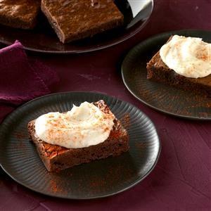 Chili-Chipotle Brownie Bars Recipe