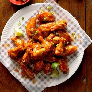 Chili-Lime Chicken Wings Recipe