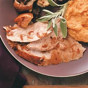 Chili-Roasted Turkey Breast Recipe