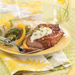 Chili Steak & Peppers Recipe