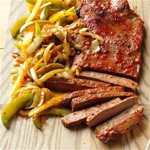 Chili Steak & Peppers Recipe