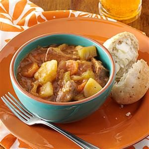Chilly Night Beef Stew Recipe