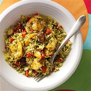 Chimichurri Shrimp Skillet Recipe
