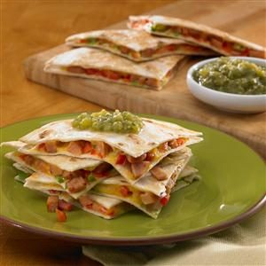 Johnsonville Chipotle Monterey Jack Cheese Sausage Quesadillas
