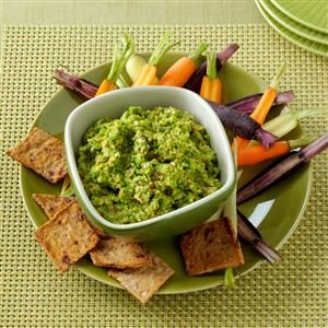 Chipotle Pea Spread Recipe