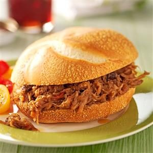 Chipotle Pomegranate Pulled Pork