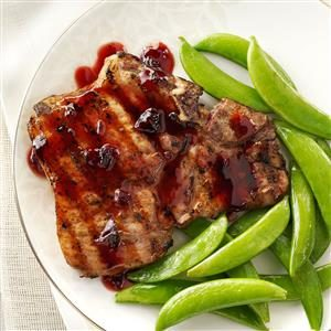 Chipotle-Raspberry Pork Chops Recipe