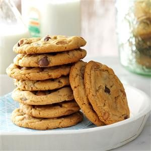Chippy Peanut Butter Cookies