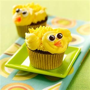 Chirpy Chick Cupcakes Recipe
