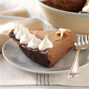 Chocolate-Amaretto Mousse Pie