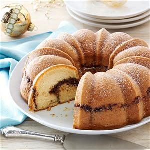 Chocolate-Apricot Coffee Cake Recipe