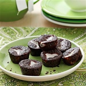 Chocolate-Bottom Mini-Cupcakes Recipe