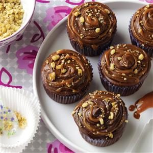 Chocolate Caramel Cupcakes Recipe