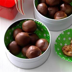 Chocolate Cherry Candies Recipe