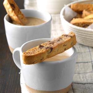 Chocolate Chip Mandelbrot Cookies Recipe