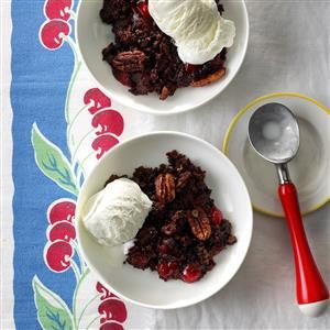 Chocolate-Covered-Cherry Dump Cake